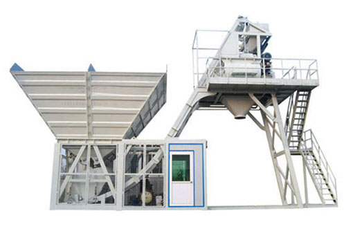 UTM-40 Mobile Concrete Mixing Plant