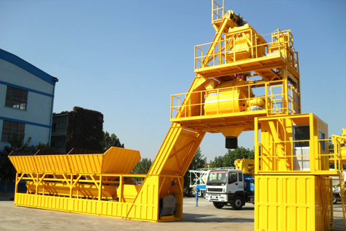 UTM-60 Mobile Concrete Mixing Plant