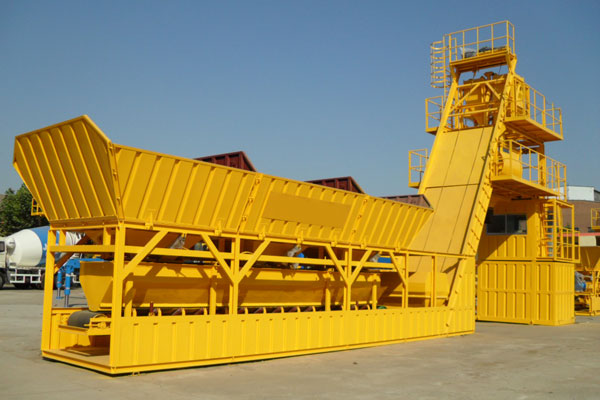 UTM-100 Mobile Concrete Mixing Plant